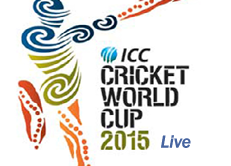ICC Cricket World Cup 2015 Live Score